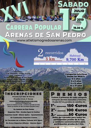 XVI Carrera Popular de Arenas de San Pedro