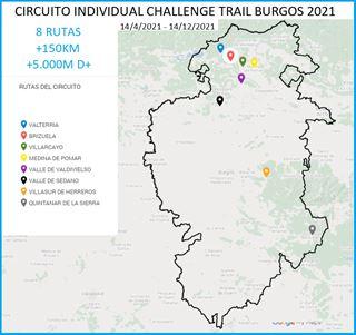 CIRCUITO INDIVIDUAL CHALLENGE TRAIL BURGOS 2021