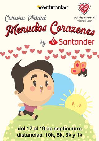 Carrera Solidaria Virtual Menudos Corazones - 2021
