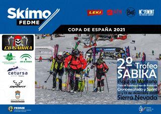 Copa de España de Esquí de Montaña, Sierra Nevada, FEDME 20-21