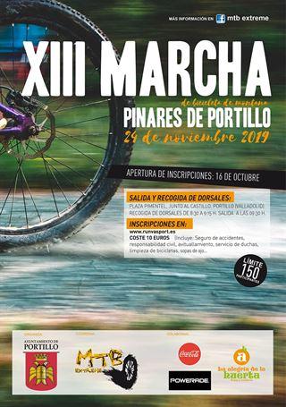 """XIII Marcha MTB """"Pinares de Portillo"""""""