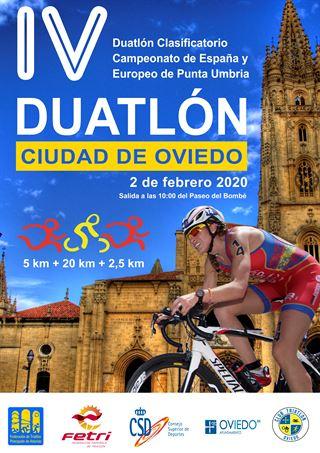 1º Clasificatorio Campeonato de España de Duatlón - Oviedo