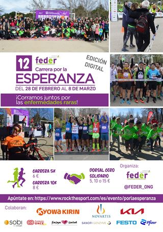 Carrera Virtual por la Esperanza