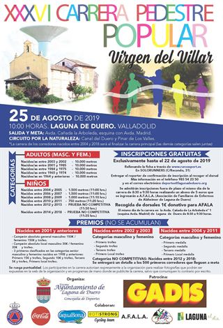 XXXVI Carrera Pedestre Popular Virgen del Villar