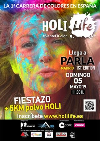 Holi Life Parla 1st Edition 05-05-2019