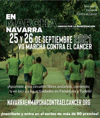 VII Marcha Navarra Contra el Cáncer 2021