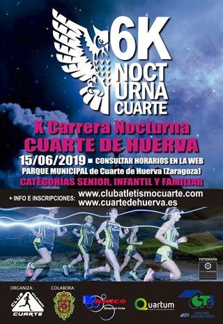 X CARRERA NOCTURNA CUARTE DE HUERVA