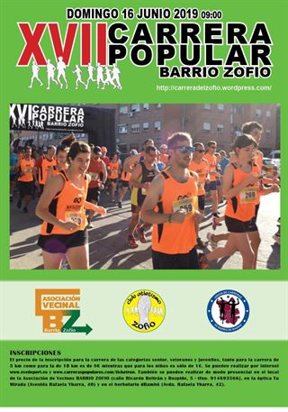 XVII Carrera Popular Barrio del Zofío