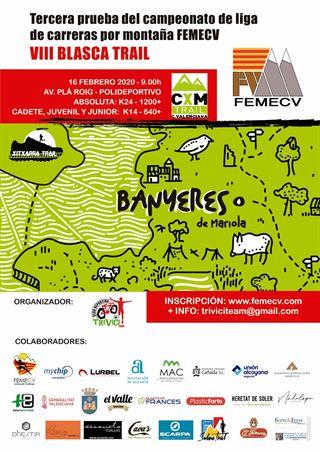 3a. prova Campionat de Lliga de Carrera per muntanya, FEMECV 2020, Blasca trail