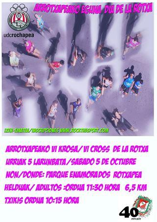ARROTXAPEAREN 6. HERRI KROSA - 6. CROSS DE LA ROTXAPEA