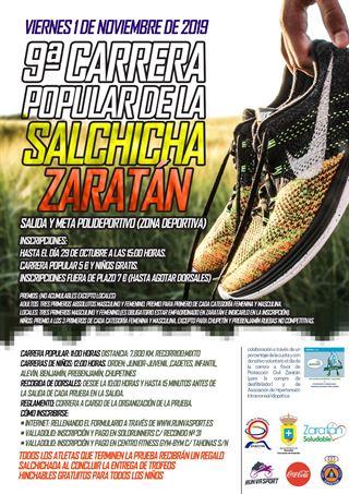 "9ª Carrera Popular de la Salchicha ""Zaratán"""