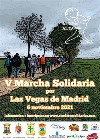V Marcha Solidaria de las Vegas de Madrid
