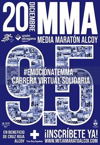 9.5 EDICIÓN DE LA MEDIA MARATÓN ALCOY 2020.  VIRTUAL Y SOLIDARIA