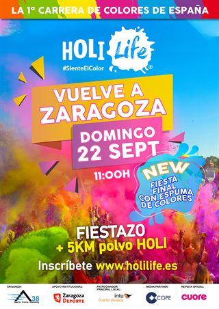 Holi Life Zaragoza 5th Edition 22-09-19