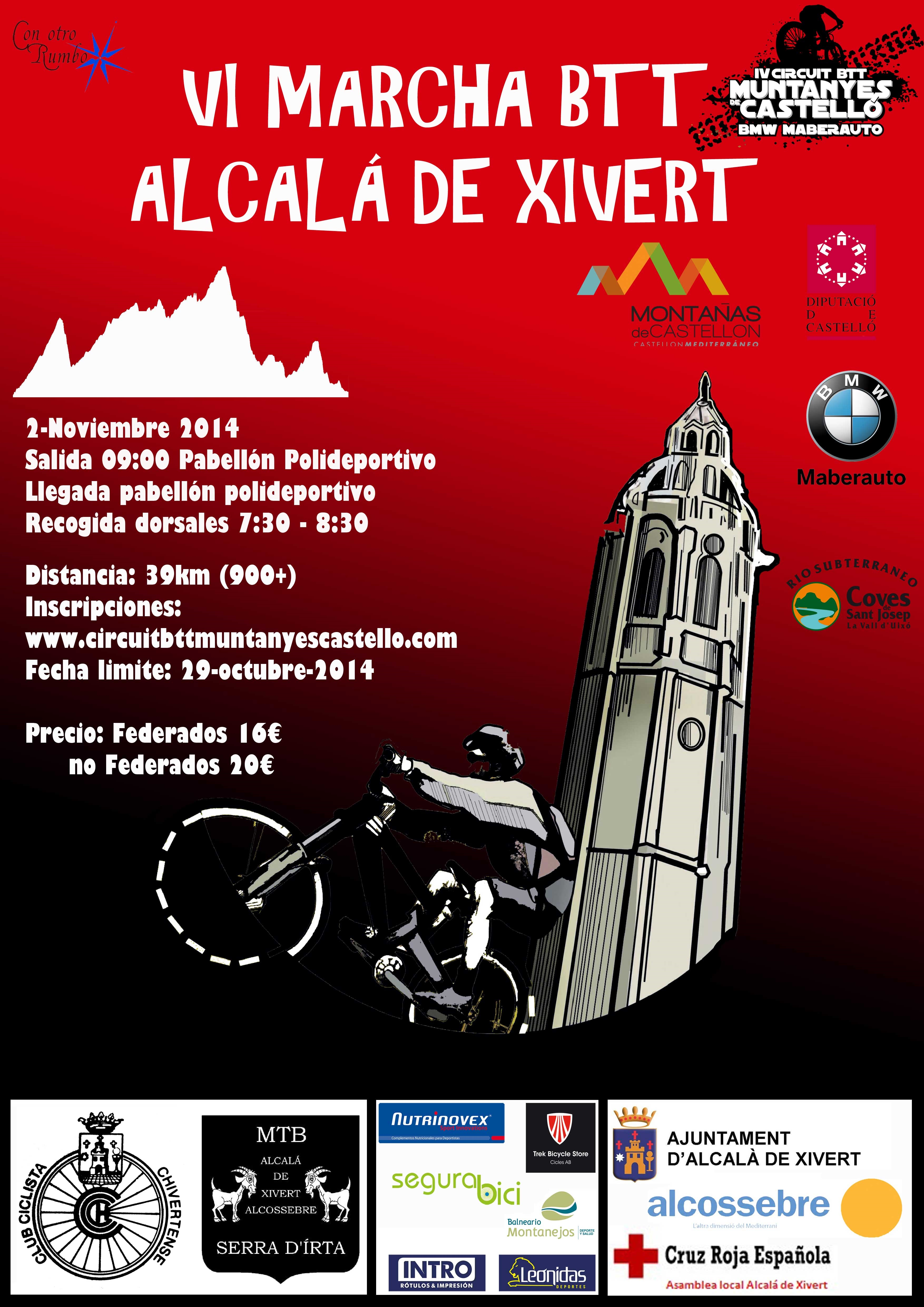 Rockthesport Vi Marcha Btt Alcal De Xivert 2014 Alcal De  # Muebles Pitarch Borriol