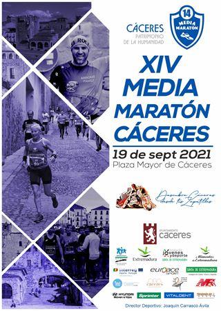 "XIV Media Maratón Cáceres ""Patrimonio de la Humanidad"""