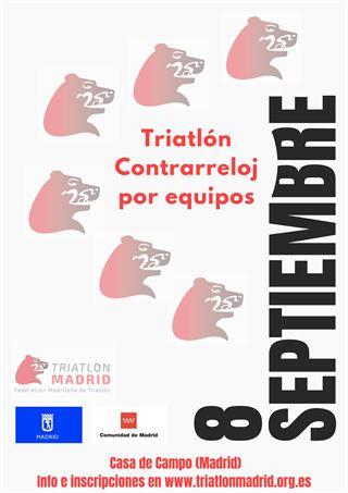 TRIATLÓN CONTRARRELOJ POR EQUIPOS 2019