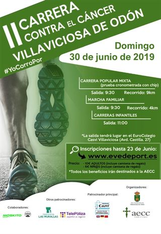II Carrera en Beneficio de la AECC