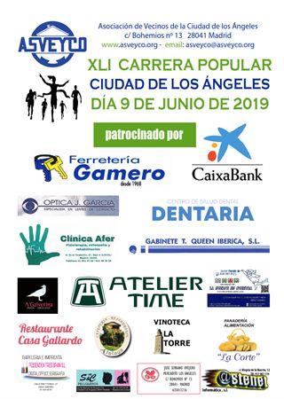 XLI CARRERA POPULAR CIUDAD DE LOS ANGELES