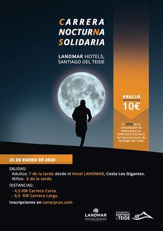Carrera nocturna solidaria