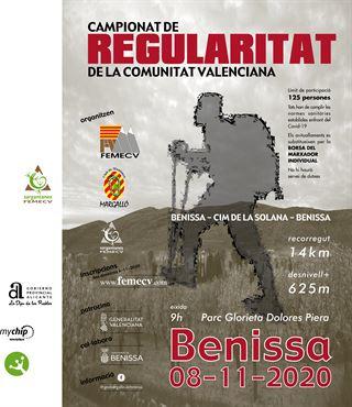 Campionat de Regularitat per muntanya de la Comunitat Valenciana, Benissa FEMECV 2020
