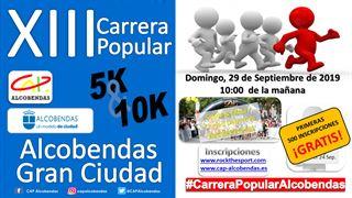 CARRERA POPULAR ALCOBENDAS GRAN CIUDAD 2019