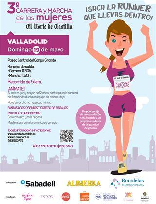 """III Carrera y Marcha de las Mujeres """"El Norte de Castilla"""""""