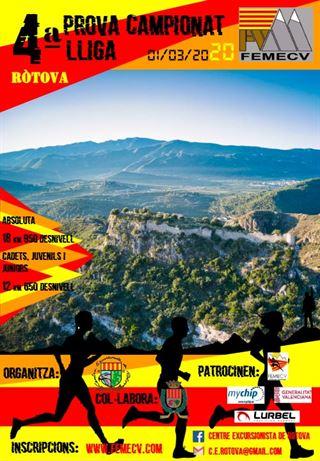 4 prova Campionat de Lliga de la Comunitat Valenciana, Rótova, FEMECV 2020