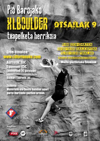 11. Pio Baroja Boulder Txapelketa Herrikoia