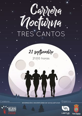 CARRERA NOCTURNA DE TRES CANTOS 2019