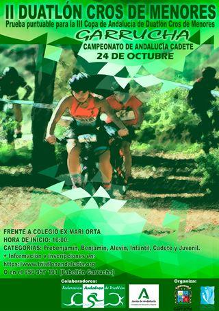 II DUATLÓN CROS DE MENORES DE GARRUCHA (Campeonato de Andalucía Cadete)