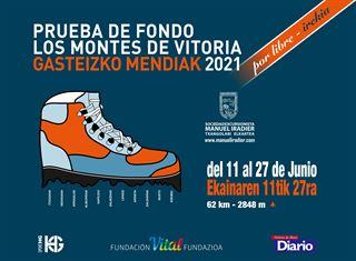 Los Montes de Vitoria-Gasteizko Mendiak en 1 etapa