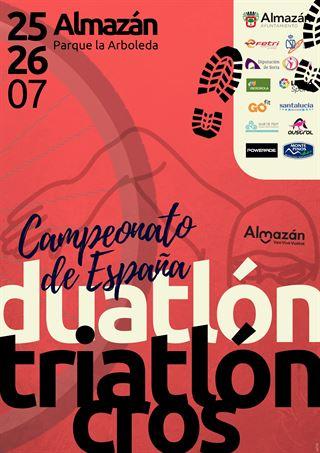 Campeonato de España de Triatlón Cros - Almazán