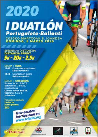 I. DUATLON PORTUGALETE-BALLONTI