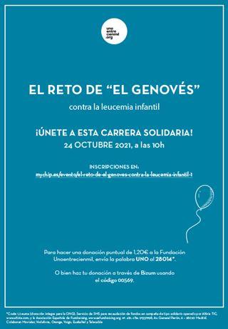 El reto de El Genovés contra la Leucemia Infantil