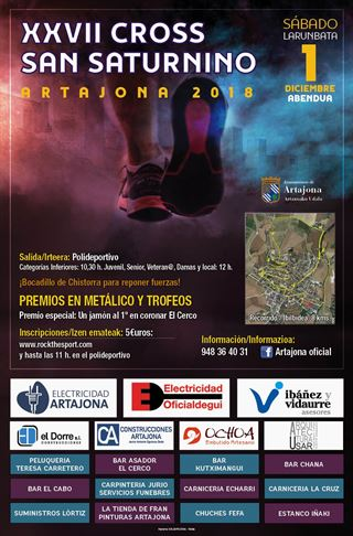 XVII CROSS SAN SATURNINO ARTAJONA 2018