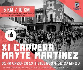 XI Carrera Mayte Martínez - Villalón de Campos