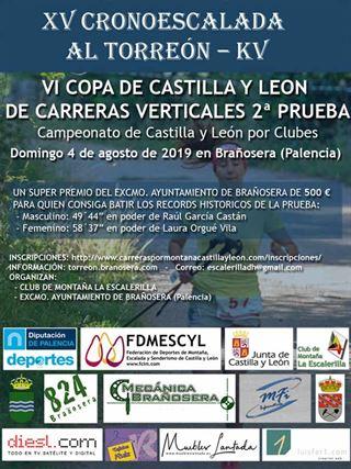VI Copa de Castilla y León de Carreras Verticales 2ª prueba-XV Cronoescalada Torreón