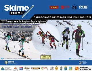 Campeonato de España de Esquí de Montaña por Equipos FEDME,      XXV  Travesía valle del Aragón de Esquí - Alpinismo