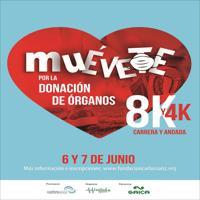 III Carrera Muévete por la donación de órganos