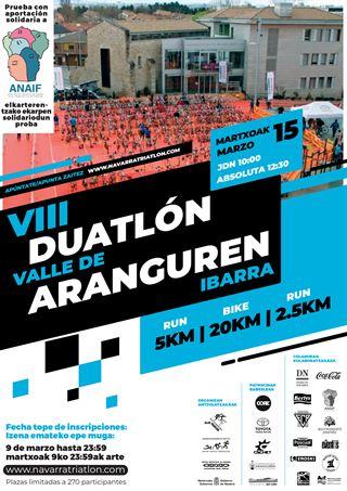 VIII Duatlon Valle de Aranguren JDN (hasta Infantiles)