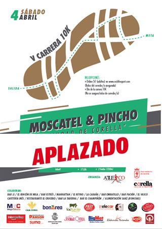 """V Carrera del Moscatel y Pincho """"Ciudad de Corella"""""""