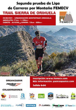 Segunda prueba de la Liga de Carreras por Montaña de la FEMECV 2021, III Trail Sierra de Orihuela