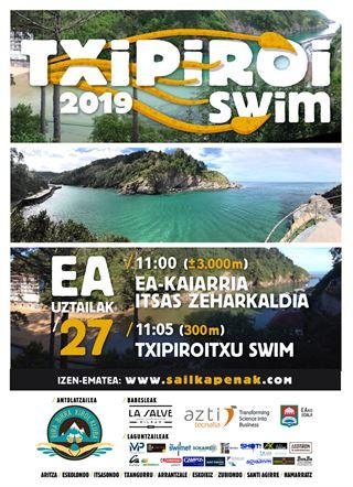 IV Txipiroi Swim (Ea) Itsas zeharkaldia - Travesía a nado 2019