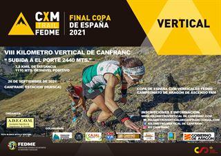 Copa de España CXM Vertical FEDME 2021, Kilometro Vertical de Canfranc
