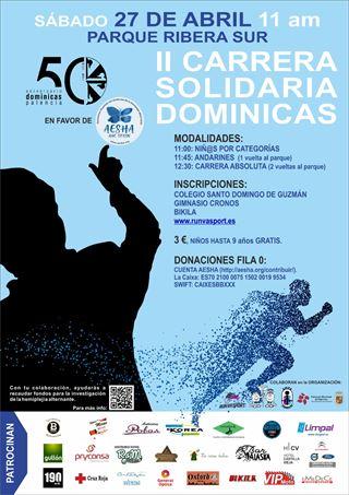 II Carrera Solidarria Dominicas a Favor de AESHA