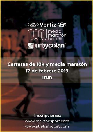 II. VERTIZ FORD MEDIA MARATON DE IRUN + 10K - URBYCOLAN
