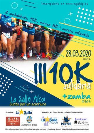 10k solidaria La Salle, 2020