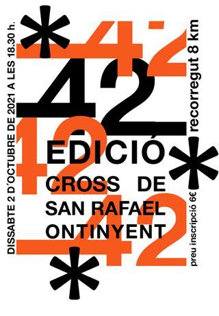 42 CROSS DE SANT RAFEL ONTINYENT 2021