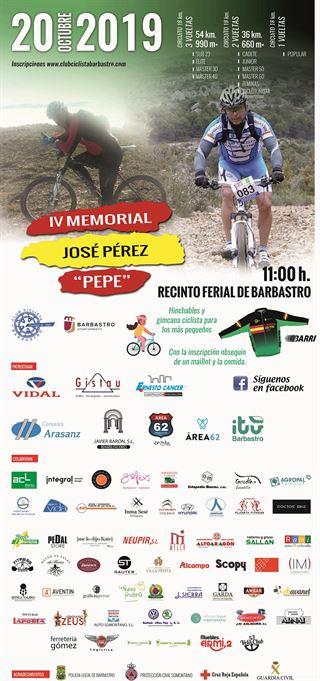 """IV MEMORIAL JOSE PEREZ """"PEPE"""""""